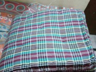 gaddhe cotton (mattress)size 6*4