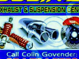 COLIN'S EXHAUST AND SUSPENSION CENTRE