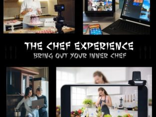 Interactive online food and drink experiences