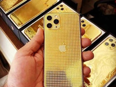 iPhone 11 pro max gold color