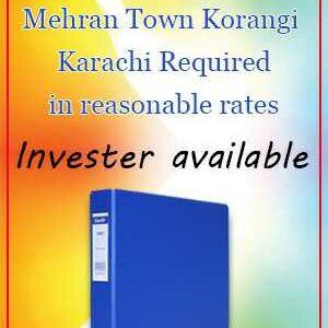 Encroachment files of mehran town korangi karachi pakistan