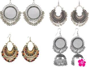 women's beautiful earrings