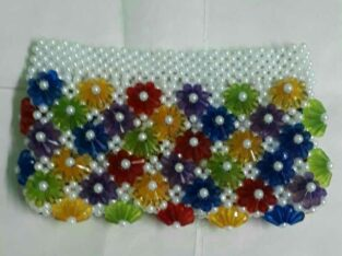 beads ad cystral mix ad match purse