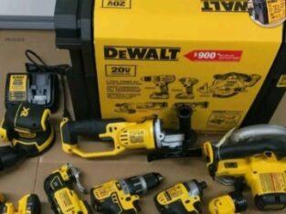 milwaukee and dewalt tools