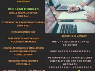 Biological Data Science Training and Data Analysis services