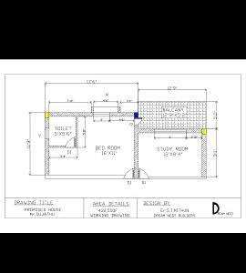 home plan AUTO CADD drawing