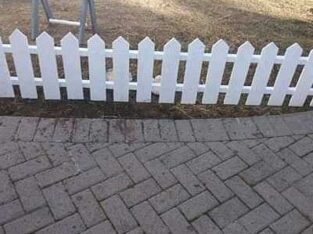 picket fence we deliver and installation For free
