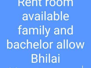 rent room new khursipar Bhilai me family and bachelor allow ( c. g)