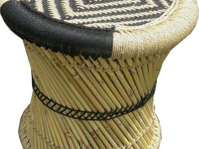 Trendy bamboo stool