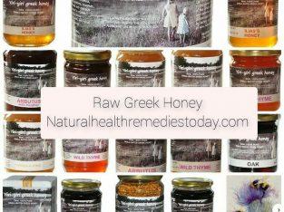 Raw Greek Honey