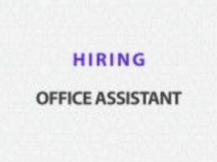 back office assistant