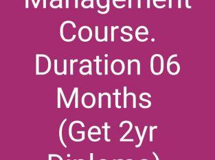 Hotel / Hospitality / Restaurant Management Course
