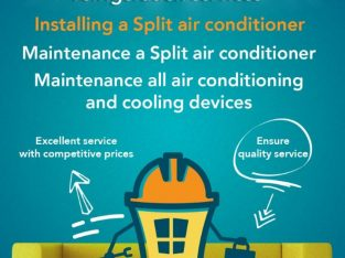 air-conditioning and Refrigeration service
