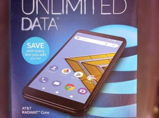 AT&T Radiant Core 4G LTE Smartphones 3 of them price is per davice each!