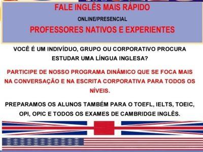 Fale inglês mais rápido