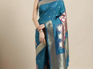Kanjeevaram Slik Saree with Blouse Piece