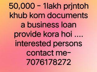 business loan, home loan, personal loan, mortgage loan provide kora hoiiii… 7076178272 contact no