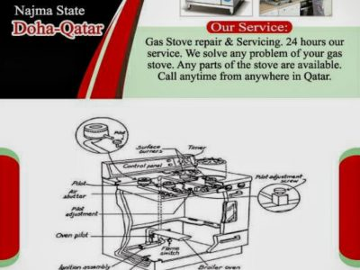 Gas-stove repair & serviceing