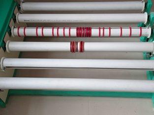 plastic bangles per chemical yani lamination krne ka machine