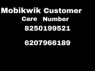 Mobikwik Customer Care Number 8167396291==6289807796