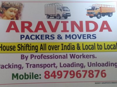 ARAVINDA Packers and movers 8497967876